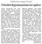OVZ Presseartikel vom 16.03.2006