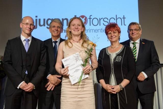 Auszeichnung Frau Roesler
