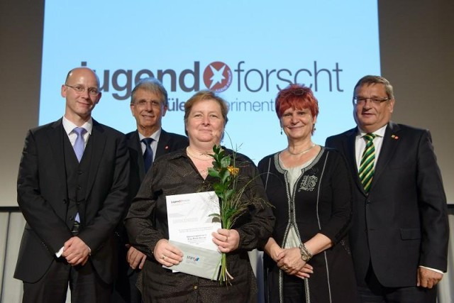 Auszeichnung Frau Werner
